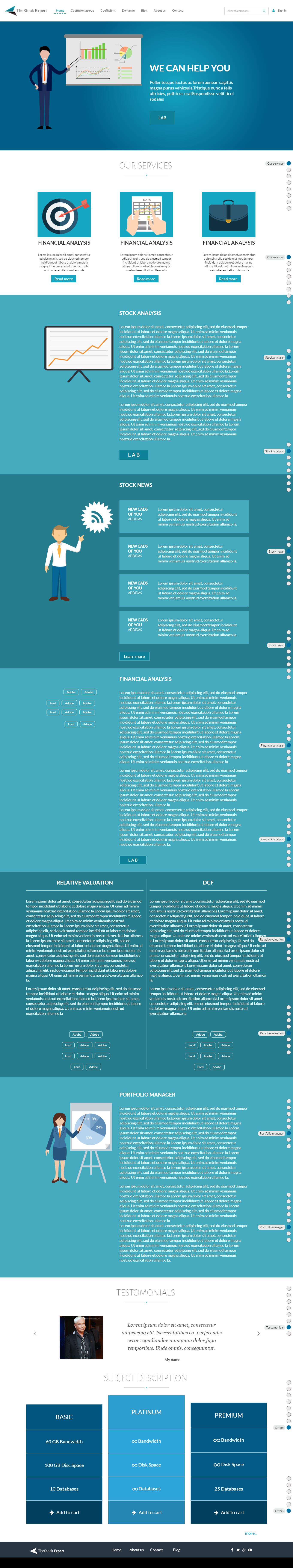 главная страница, верстка, верстка финансового проекта, редстод, redstode, redstone